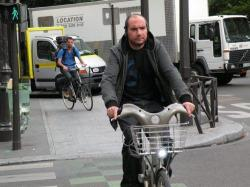 guy on Velib